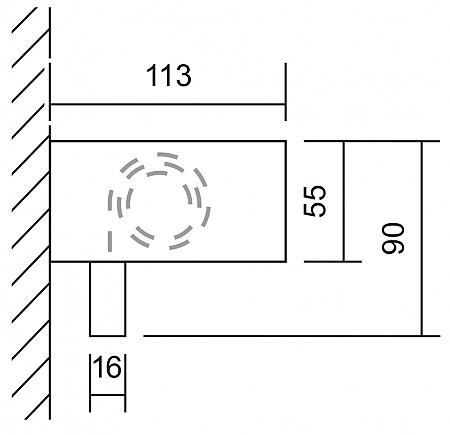 edelstahl exklusiv rollo f r wandmontage massjalousien. Black Bedroom Furniture Sets. Home Design Ideas