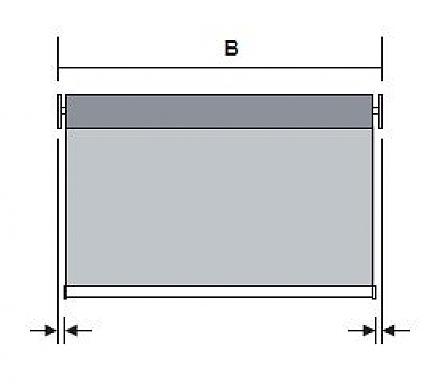 premium rollo mit klemmtr ger. Black Bedroom Furniture Sets. Home Design Ideas