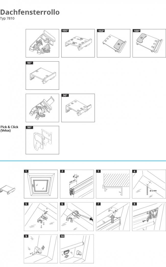 premium rollo f r dachfenster richtig montieren. Black Bedroom Furniture Sets. Home Design Ideas